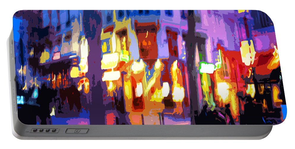 Paris Portable Battery Charger featuring the photograph Paris Quartier Latin 02 by Yuriy Shevchuk