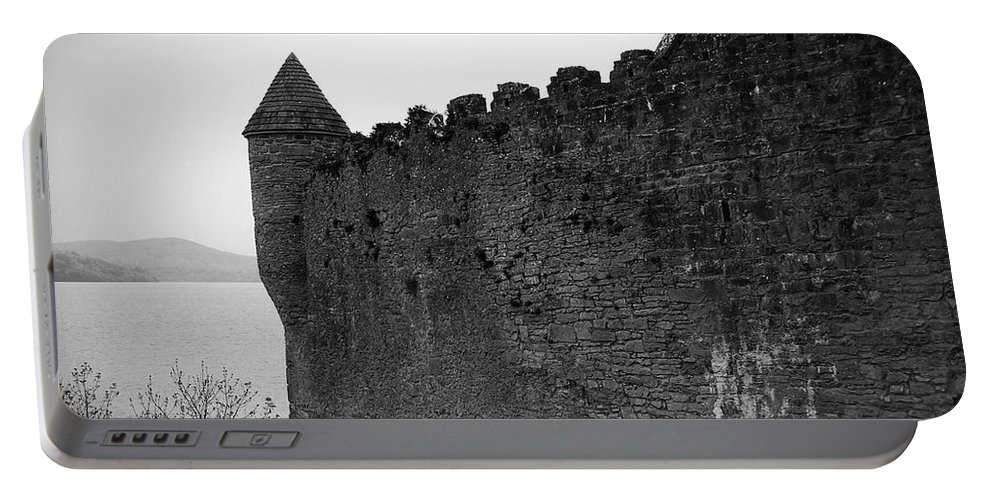 Ireland Portable Battery Charger featuring the photograph Parkes Castle County Leitrim Ireland by Teresa Mucha