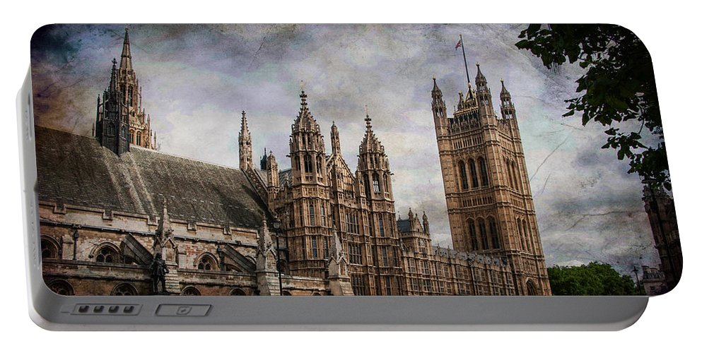 Parliament Portable Battery Charger featuring the photograph Parliament by Bill Howard