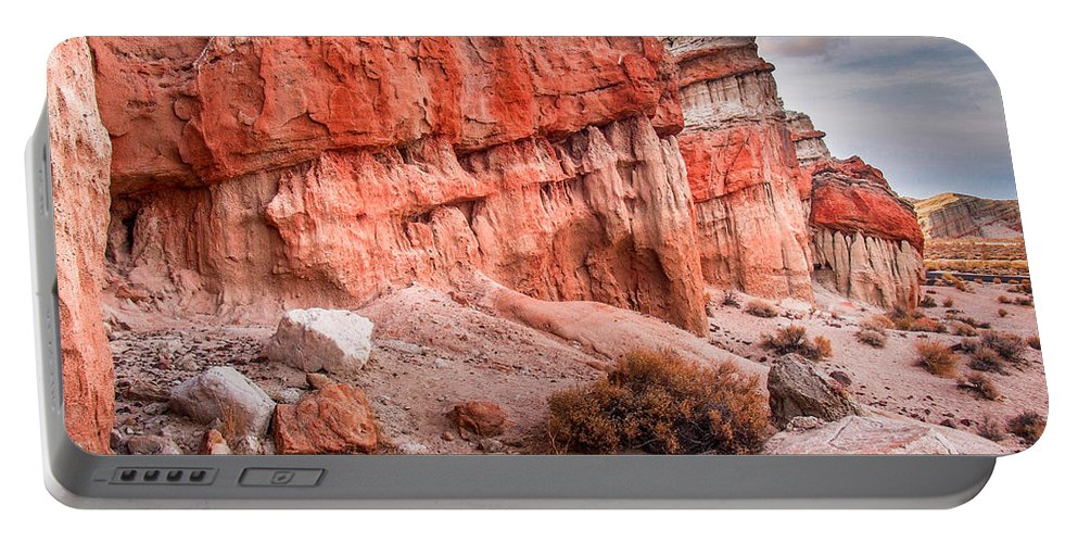 Red Rock Canyon State Park Portable Battery Charger featuring the photograph Passing Time At Red Rock by Michele James