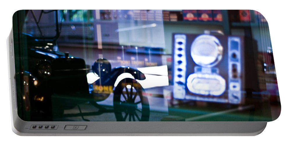 Car Portable Battery Charger featuring the photograph Past Reflections by Scott Wyatt