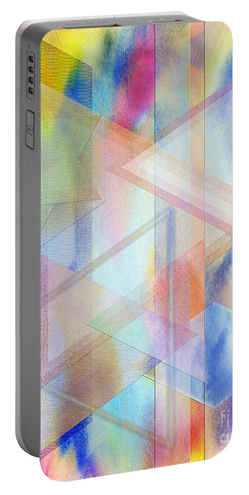 Pastoral Moment Portable Battery Charger featuring the digital art Pastoral Moment by John Beck