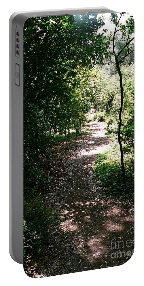 Path Portable Battery Charger featuring the photograph Path by Dean Triolo