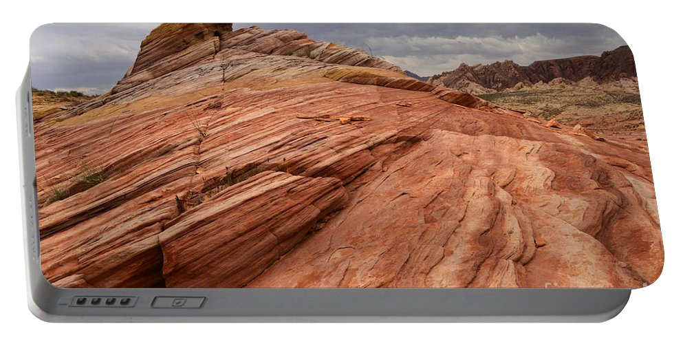 Nevada Portable Battery Charger featuring the photograph Patterns 2 by Bob Christopher