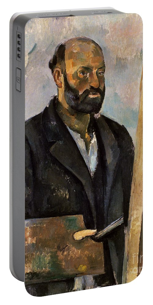 1885 Portable Battery Charger featuring the photograph Paul Cezanne (1839-1906) by Granger