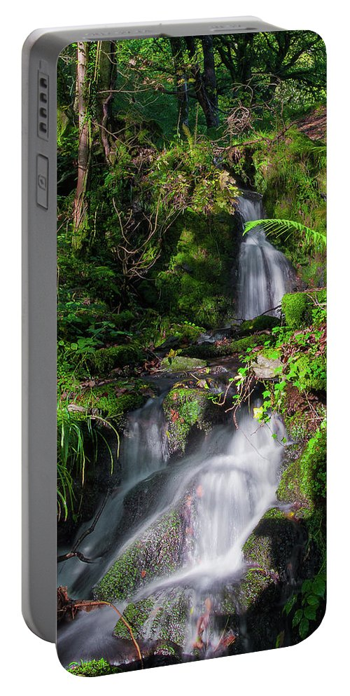 Betws-y-coed Portable Battery Charger featuring the photograph Peace And Tranquility Too by Geoff Smith