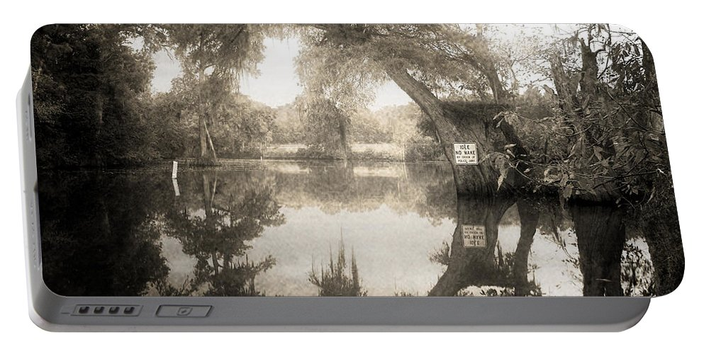 Water Portable Battery Charger featuring the photograph Peaceful Evening by Scott Pellegrin