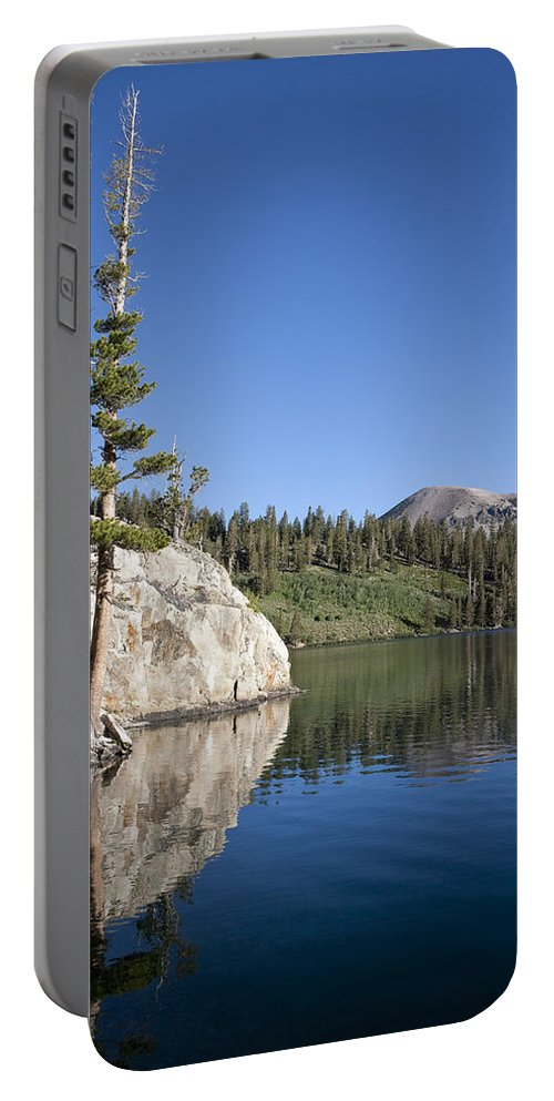 Water Portable Battery Charger featuring the photograph Peaceful by Kelley King