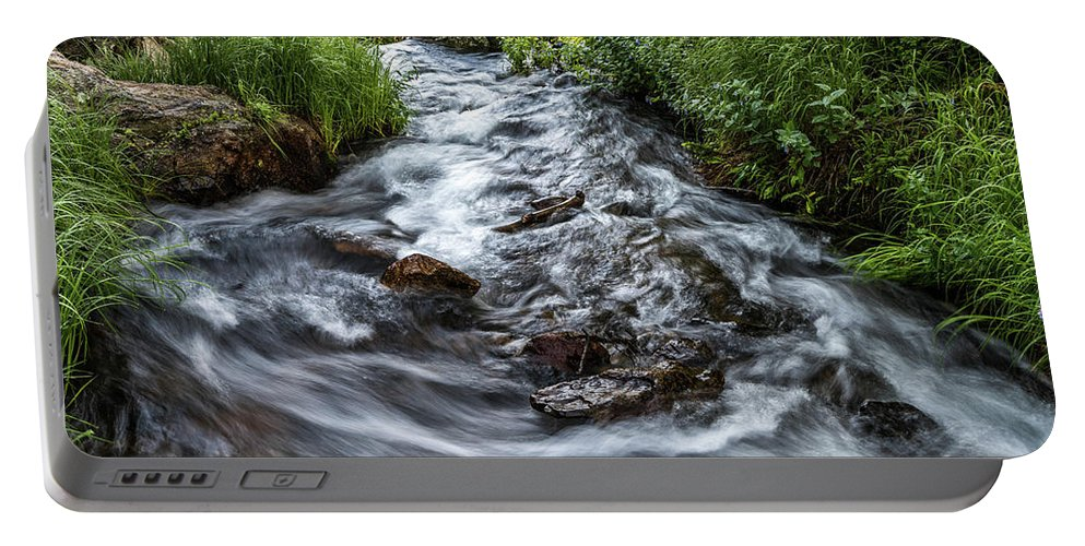 Stream Portable Battery Charger featuring the photograph Peaceful Stream by Michael Putthoff