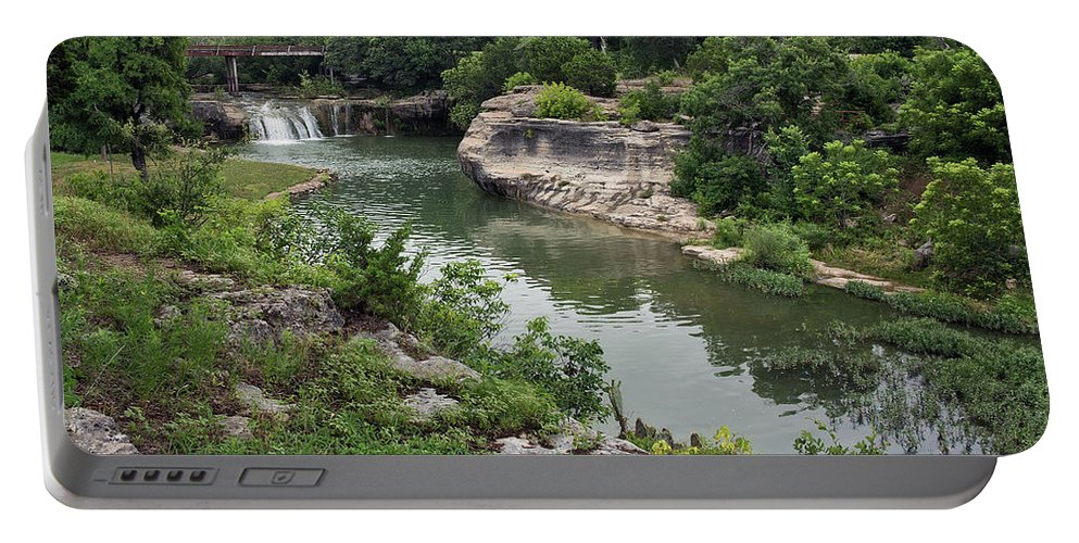 Landscape Portable Battery Charger featuring the photograph Peaceful Surroundings by Edwin A Rivers