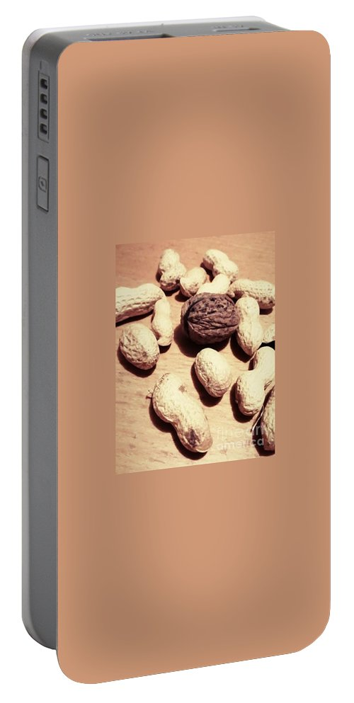 Peanuts Portable Battery Charger featuring the photograph Peanuts by Mariusz Wojcik