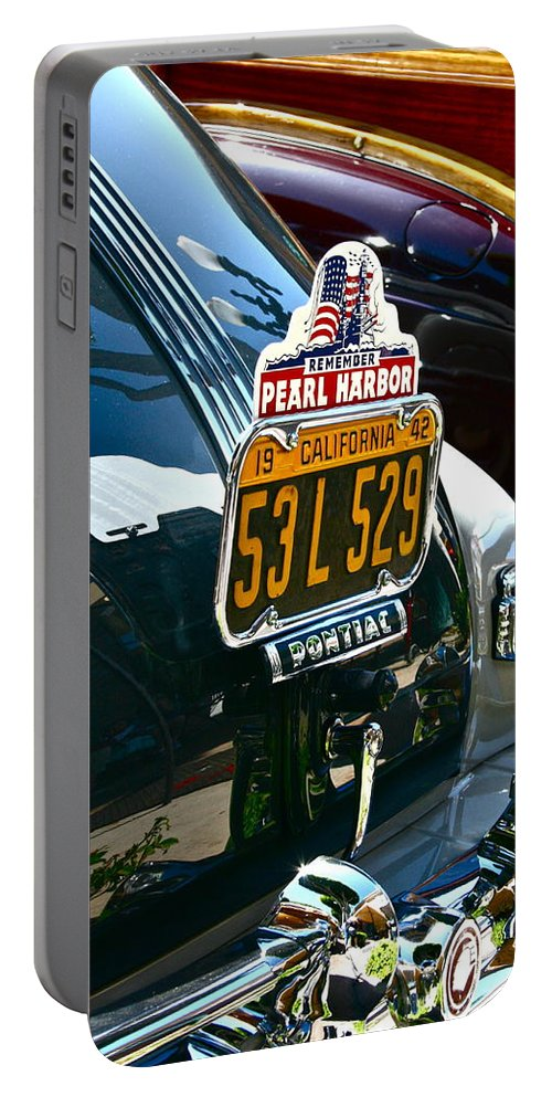 Photograph Portable Battery Charger featuring the photograph Pearl Harbor by Gwyn Newcombe