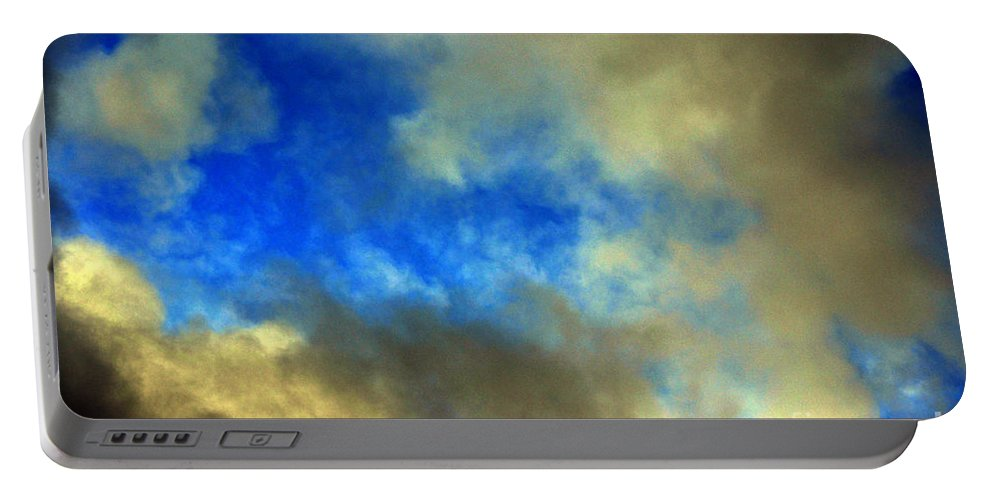 Clay Portable Battery Charger featuring the photograph Peeking Through by Clayton Bruster