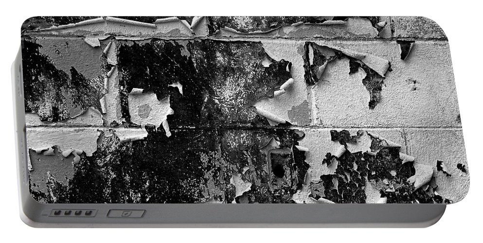 Wall Portable Battery Charger featuring the photograph Peeling by Christopher Holmes
