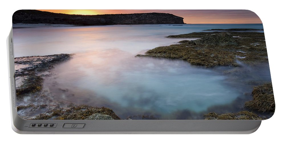 Dawn Portable Battery Charger featuring the photograph Pennington Dawn by Mike Dawson
