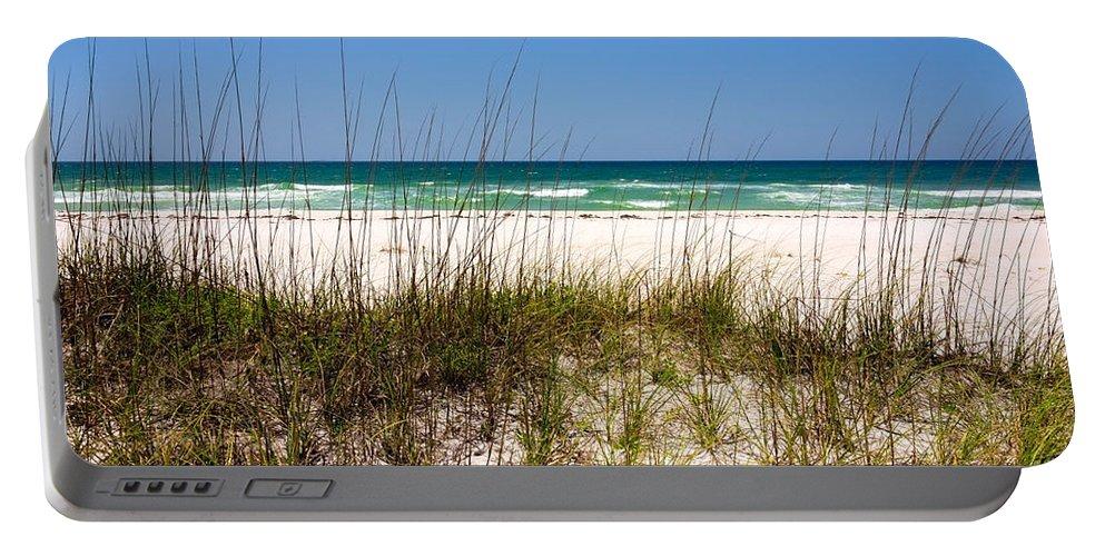 Pensacola Beach Florida Portable Battery Charger featuring the photograph Pensacola Beach 1 - Pensacola Florida by Brian Harig