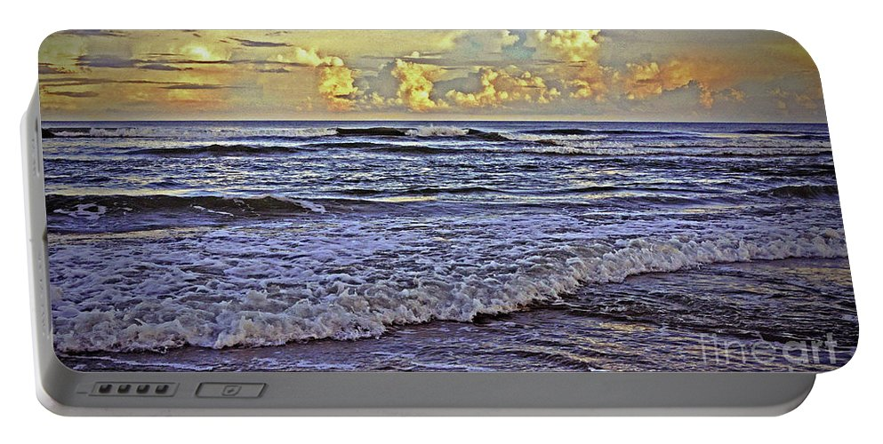 Beach Portable Battery Charger featuring the photograph Perfect Beach Evening No.3 by Lydia Holly