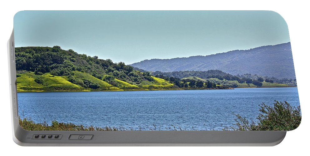 Lake Portable Battery Charger featuring the photograph Perfect Spring Day by Diana Hatcher
