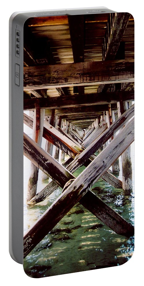 Dock Portable Battery Charger featuring the photograph Perspective I by Greg Fortier