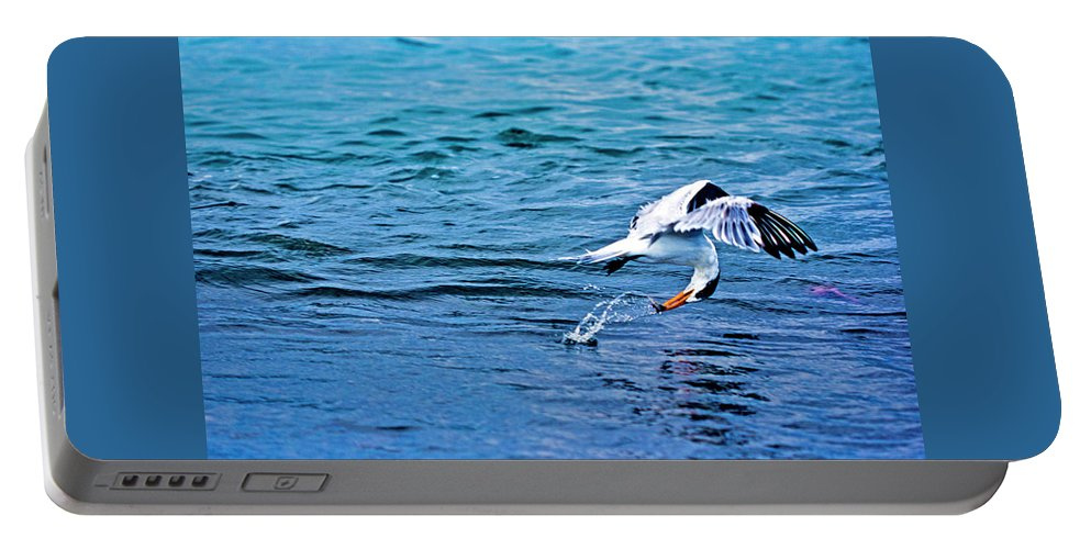 Paisaje Portable Battery Charger featuring the photograph Pescando Vida by Jose Miguel Angeles