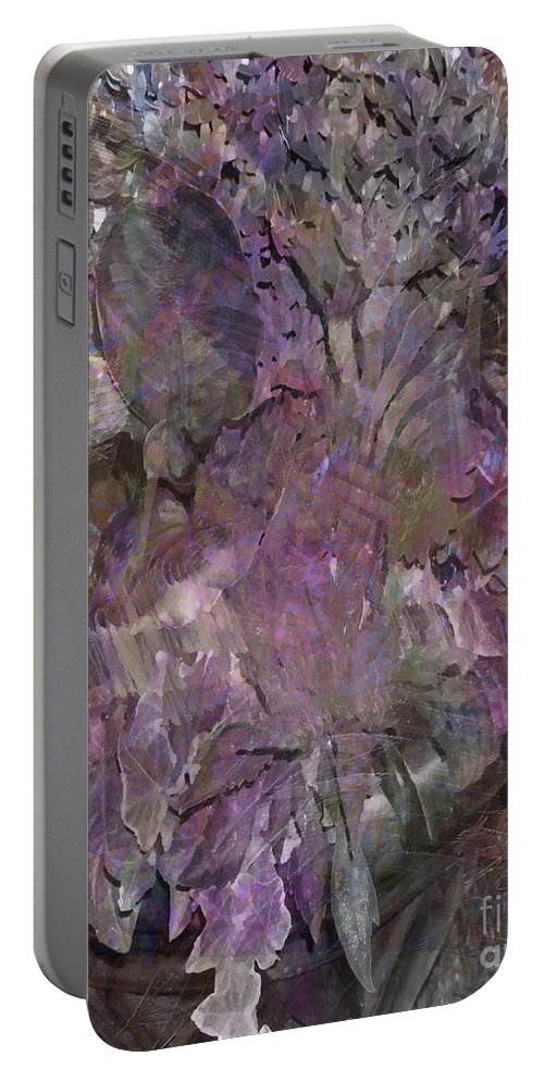 Petal To The Metal Portable Battery Charger featuring the digital art Petal To The Metal by John Beck