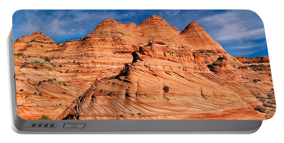 Coyote Buttes Portable Battery Charger featuring the photograph Petrified Sand Dunes by Kathleen Bishop