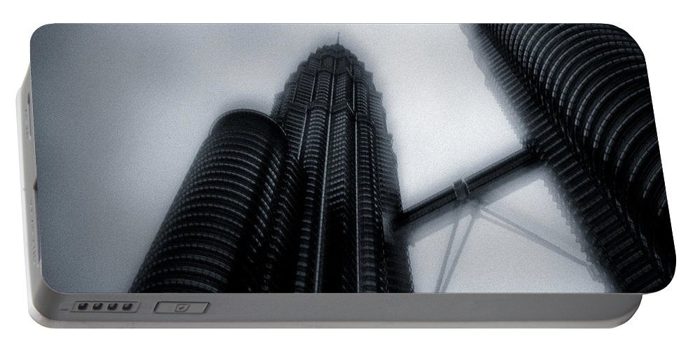 Architecture Portable Battery Charger featuring the photograph Petronas Towers by Dave Bowman