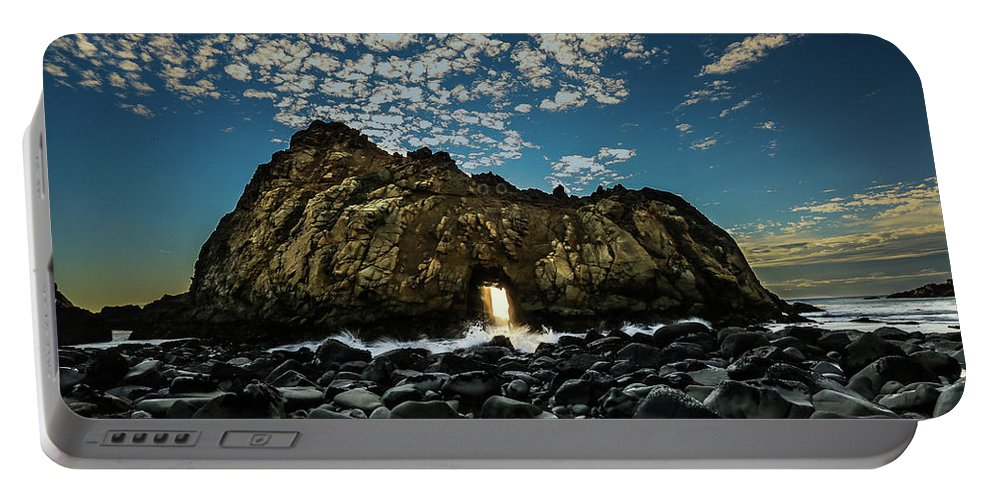 Phieffer Beach Portable Battery Charger featuring the photograph Phieffer by Mario Mariscal