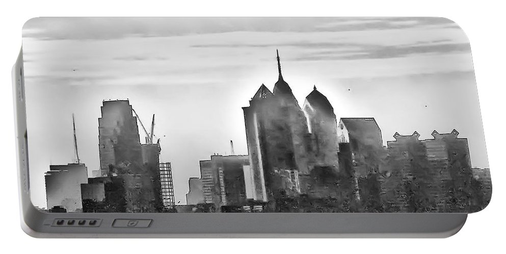 Philadelphia Portable Battery Charger featuring the photograph Philadelphia by Bill Cannon