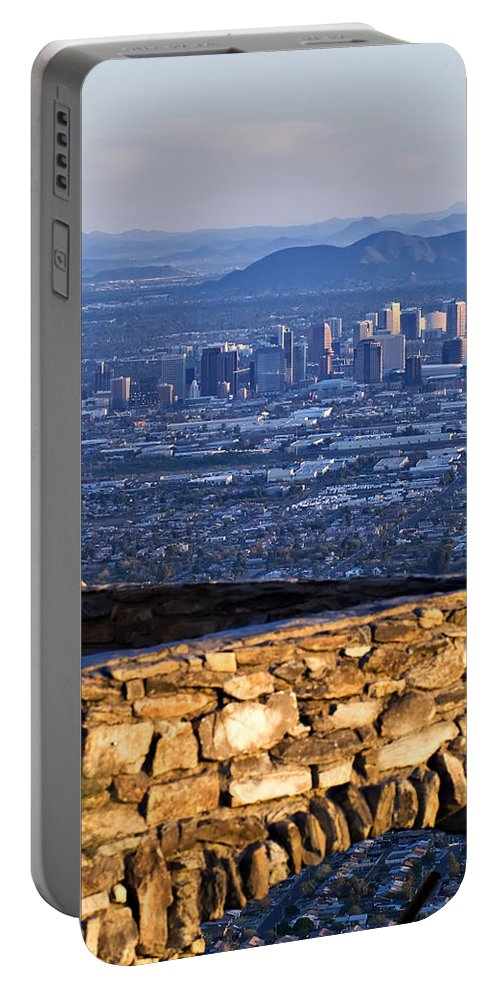 Phoenix Portable Battery Charger featuring the photograph Phoenix Sunrise by Renee Hong