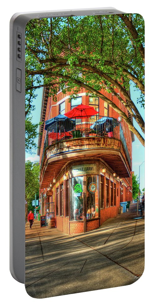 Reid Callaway Pickle Barrel 2 Portable Battery Charger featuring the photograph Pickel Barrel 2 Chattanooga Tennessee Cityscape Art by Reid Callaway