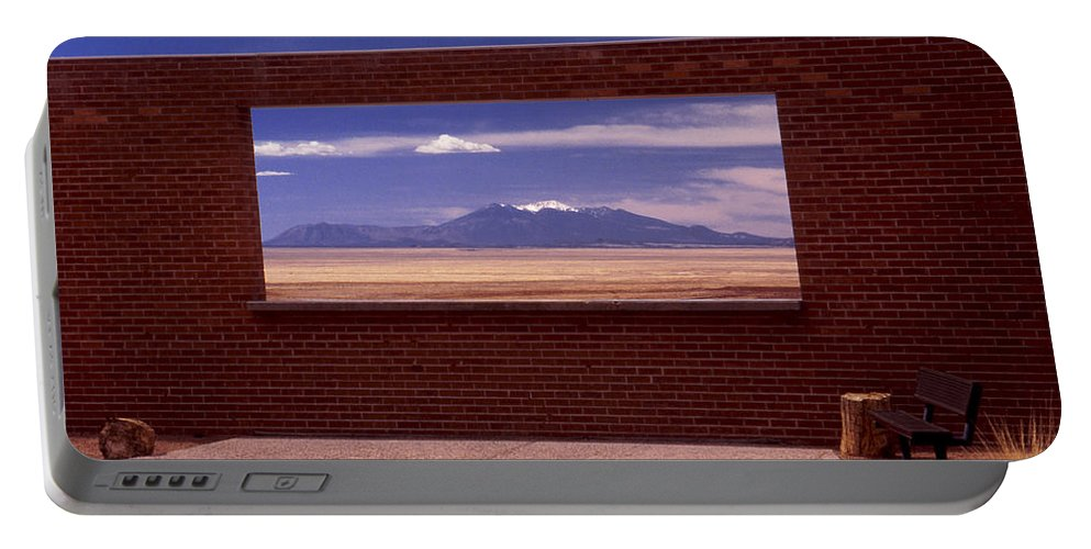 Window Portable Battery Charger featuring the photograph Picture Window by Karen Ulvestad