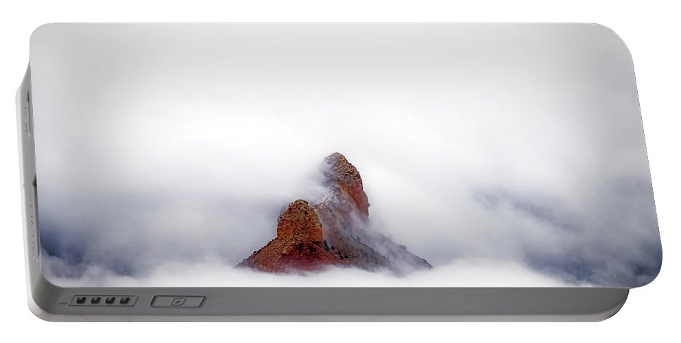 Adventure Portable Battery Charger featuring the photograph Piercing The Clouds by Rick Furmanek