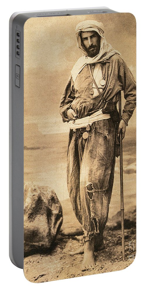 19th Century Portable Battery Charger featuring the painting Pierre Savorgnan De Brazza by Granger