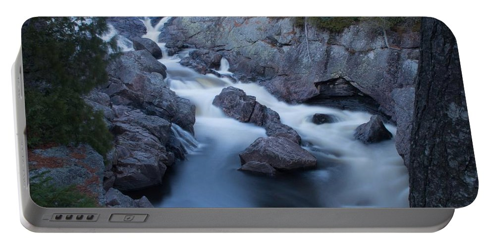 Sand River Portable Battery Charger featuring the photograph Pinguisibi by Tim Beebe