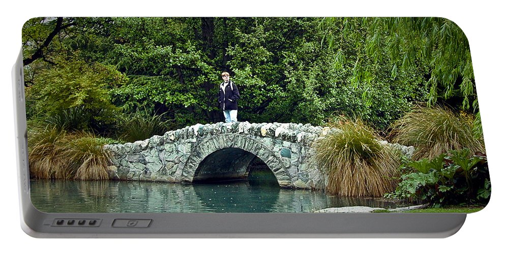 Pond Portable Battery Charger featuring the photograph Placid Pond by Douglas Barnett