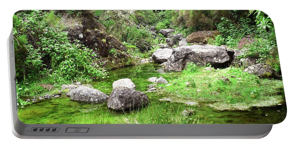 Nature Portable Battery Charger featuring the photograph Pleasant Nature by Laura Greco