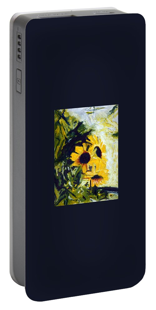 Landscape Portable Battery Charger featuring the painting pocta VvG-scetch n-2 by Pablo de Choros