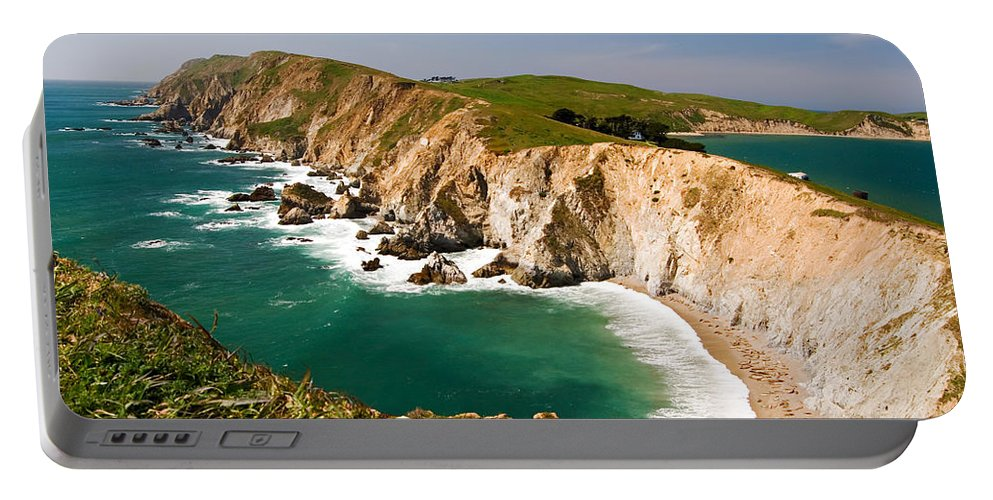 Elephant Seal Portable Battery Charger featuring the photograph Point Reyes National Seashore by Renee Hong