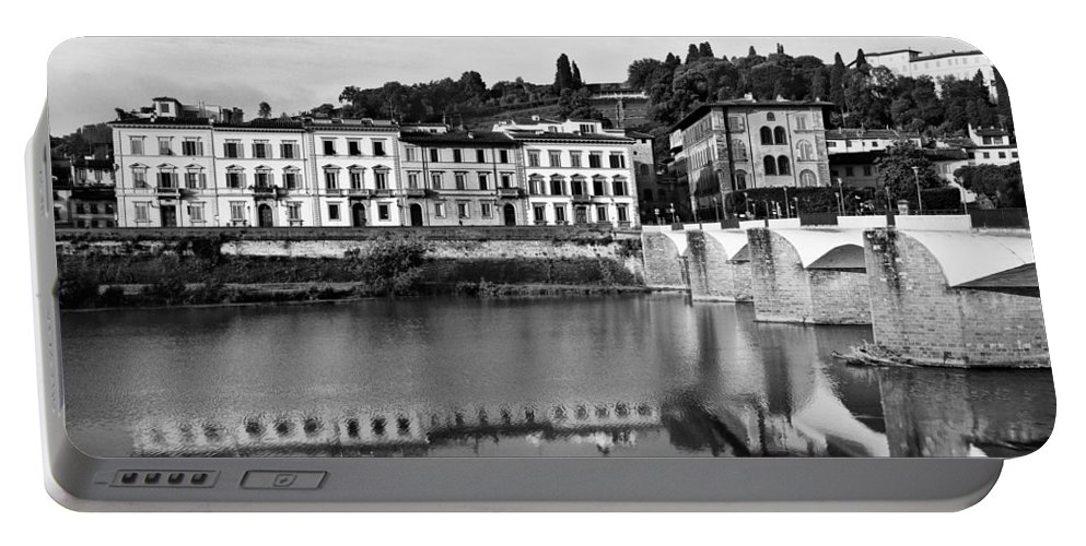 Ponte Alla Grazie Portable Battery Charger featuring the photograph Ponte Alla Grazie by Mick Burkey