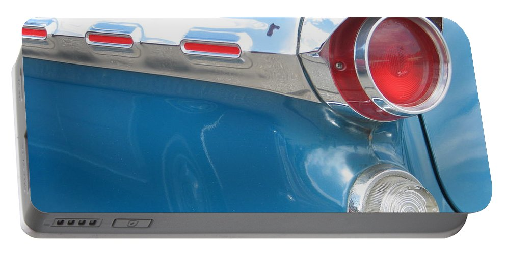 Pontiac Portable Battery Charger featuring the photograph Pontiac Classic by Kelly Mezzapelle