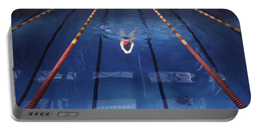 Pool Portable Battery Charger featuring the photograph Pool by Steve Williams