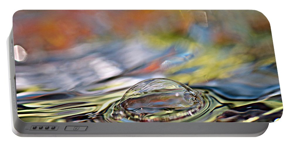 Water Portable Battery Charger featuring the photograph Pop Me by Lisa Knechtel