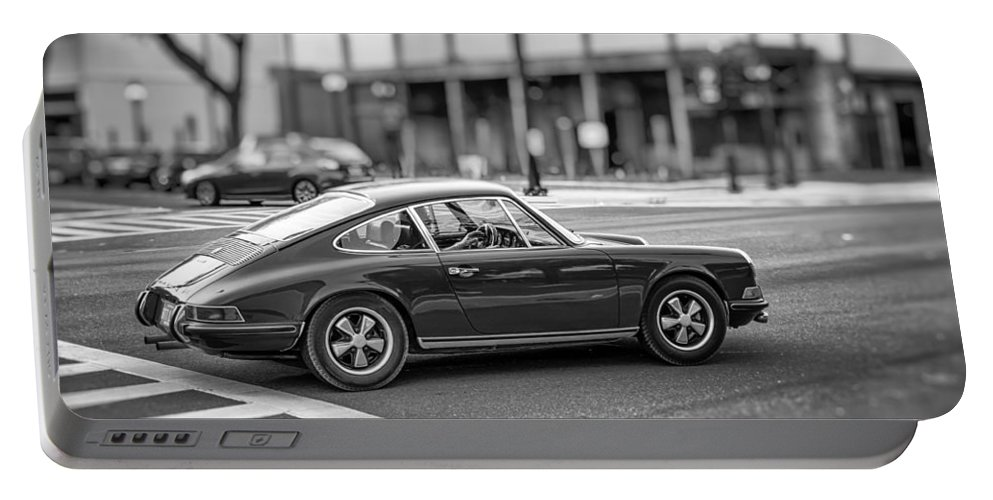 Auto Portable Battery Charger featuring the photograph Porsche 911e by Howard Salmon