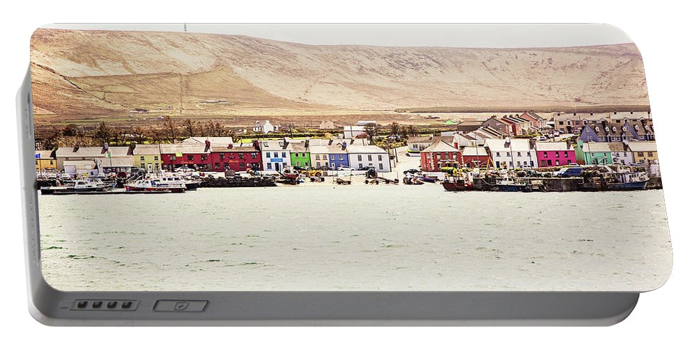 Port Portable Battery Charger featuring the photograph Portmagee by Scott Pellegrin