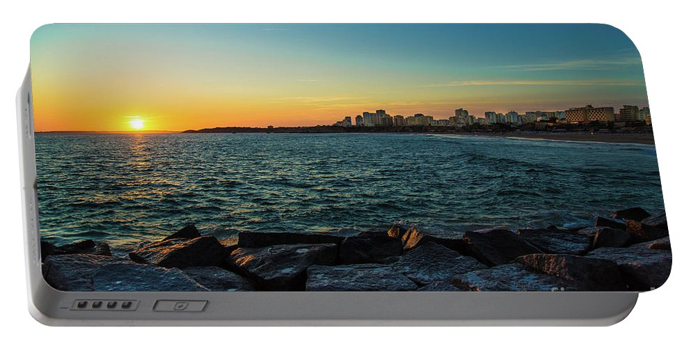 Portugal . Algarve Portable Battery Charger featuring the photograph Portugal # 2 by Mariusz Czajkowski