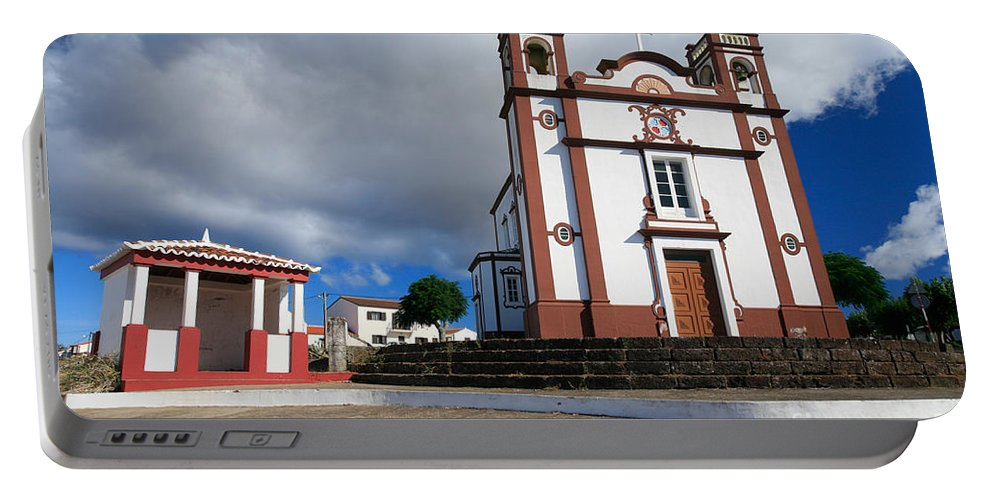 Architecture Portable Battery Charger featuring the photograph Portuguese Church by Gaspar Avila