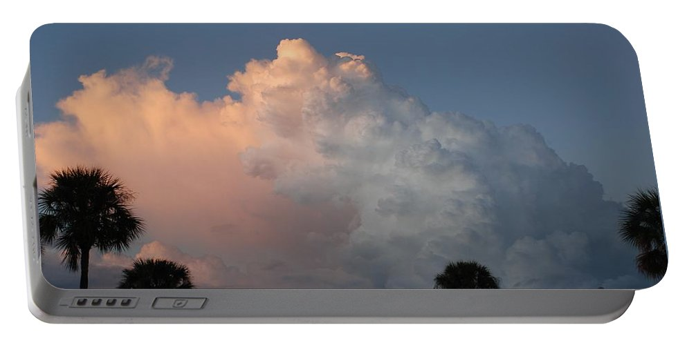 Clouds Portable Battery Charger featuring the photograph Post Card Clouds by Rob Hans