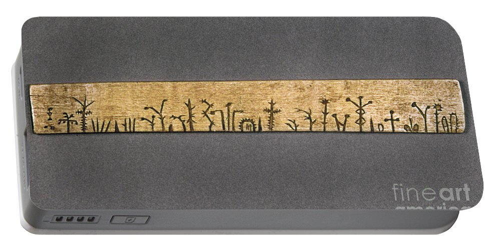 American Portable Battery Charger featuring the photograph Potawatomi Medicine Stick by Granger