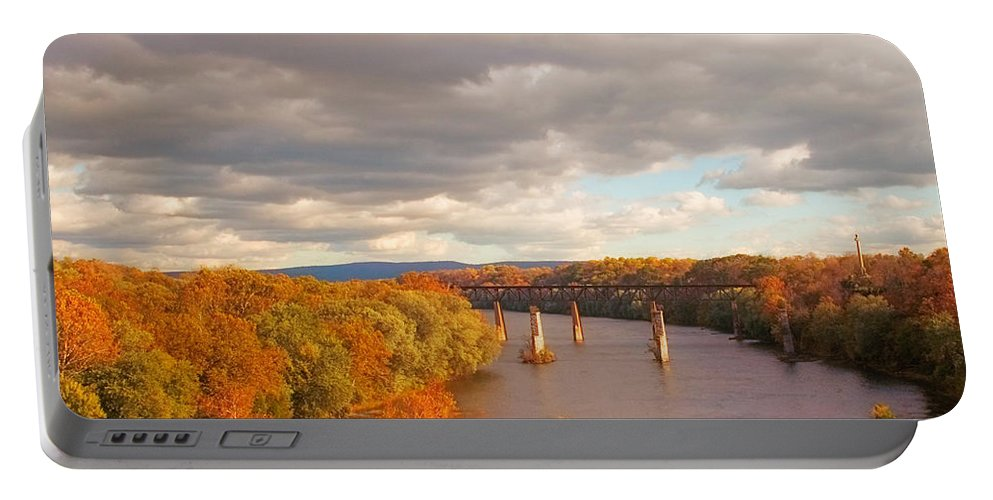 Potomac Portable Battery Charger featuring the photograph Potomac River by Mick Burkey